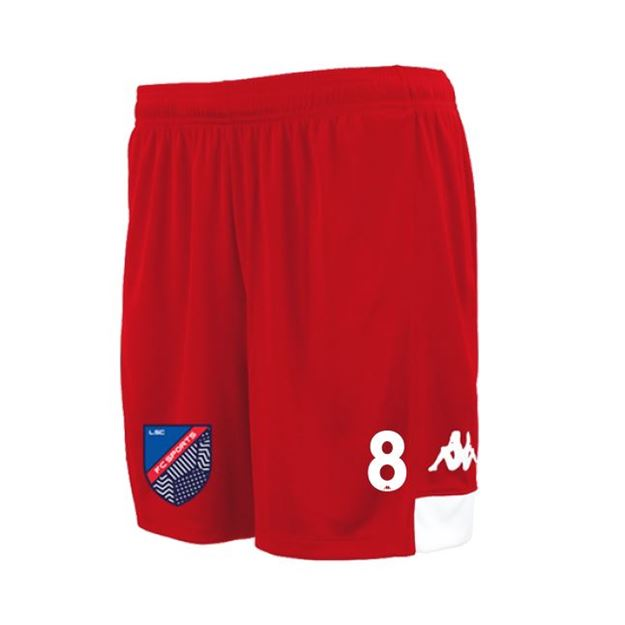 Picture of ADULTS PAGGO MATCH SHORT IN RED