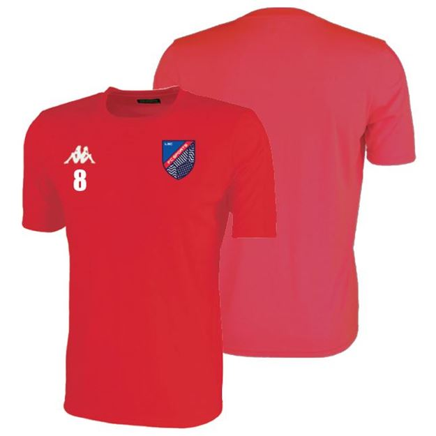 Picture of ADULTS ROVIGO SS TRAINING SHIRT IN RED