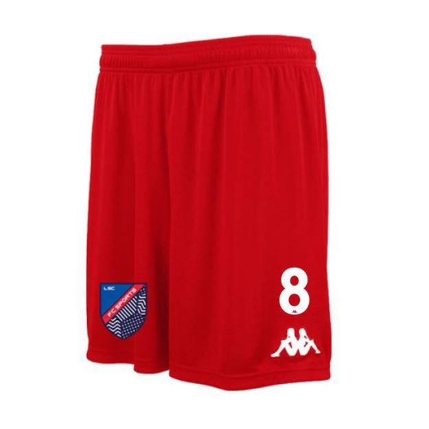 Picture of ADULTS VARESO TRAINING SHORT IN RED