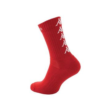 Picture of ADULTS ELENO x3 MEDIUM TRAINING SOCKS IN RED
