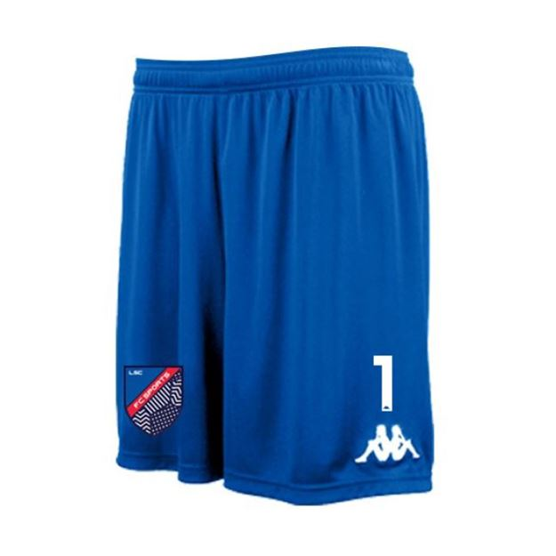 Picture of JUNIOR PAGGO GOAL KEEPER SHORT IN ROYAL