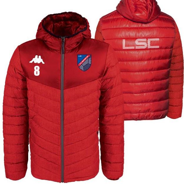 Picture of JUNIOR DOCCIO GOAL KEEPER  PADDED JACKET IN RED